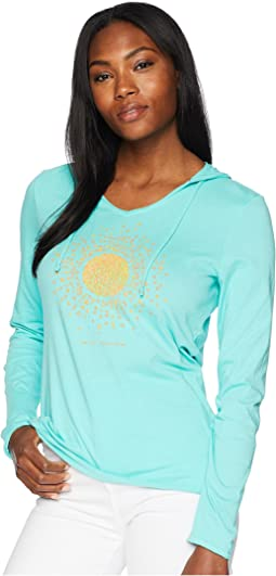 Sun Love Hooded Smooth Tee