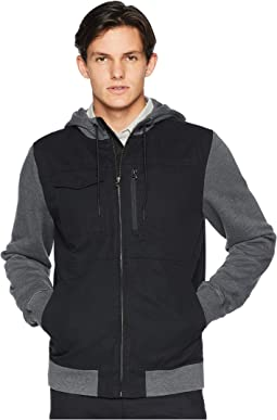 Calgary Flacket Fleece Top
