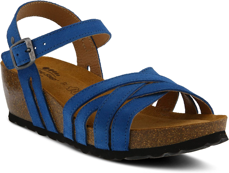 Spring Step Womens Eryn Wedge Sandal
