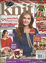 LET'S KNIT, ISSUE,74 DECEMBER, 2013 (THE UK'S BEST SELLING KNIT MAGAZINE)