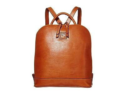Dooney & Bourke Florentine Zip Pod Backpack (Natural/Self Trim) Backpack Bags