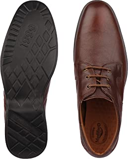 Medifeet Men Formal Leather Shoes in Brown Colour_MFS-991