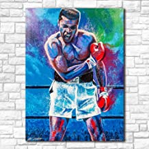 Halloween Decals Fashion Prints Wall Art Pop Art Oil Painting Muhammad Ali Poster Canvas Paintings For Surviving Room Decor No Frame Hanging Paintings Sofa Background PVC Decorations