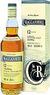 Cragganmore 12 Years/Jahre, Single Malt, Whisky, Scotch, Alkohol, Alokoholgetränk, Flasche, 40%, 200 ml, 701742