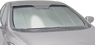Intro-Tech PR-23-P Silver Custom Fit Premium Folding Windshield Sunshade for Select Porsche Cayenne Models