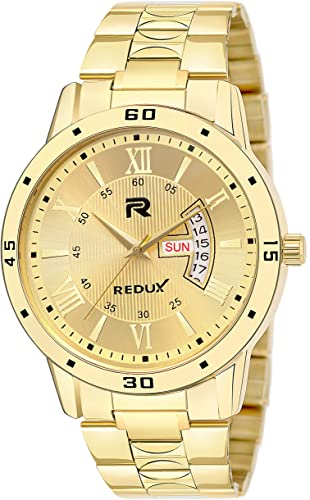 RWS0272S Analogue IPG Golden Dial Men s Boy s Watch