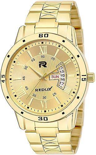 RWS0272S Analogue IPG Golden Dial Men s Boy s Watch