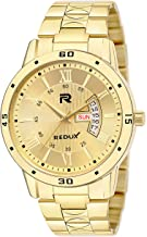 Redux IPG Analogue Golden Dial Watch for Men - RWS0272S