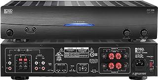 OSD Audio 250W Dual Source Speaker Amplifier – Class A/B Power Stereo, AMP200
