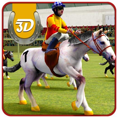 Pferderennen Simulator 3D