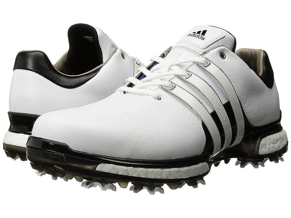 adidas Golf Tour360 2.0 (Footwear White/Core Black/Core Black) Men