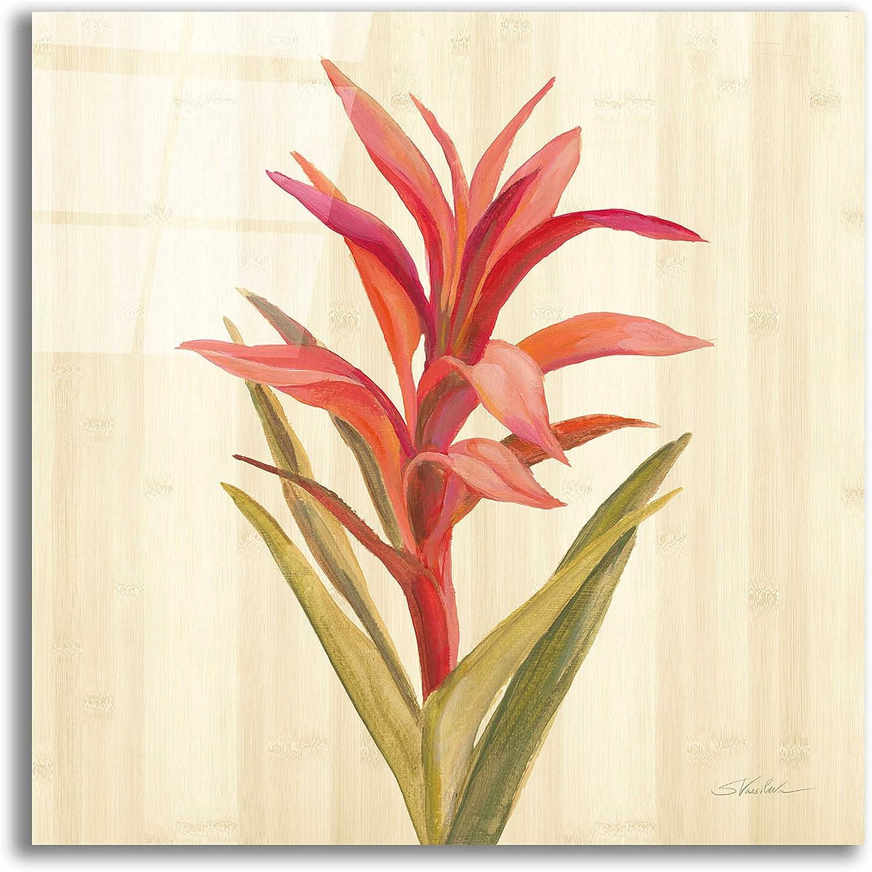 Epic Art 'Tropical Garden III' by Silvia Vassileva, Acrylic Glass Wall Art, 12