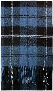 Ramsay Blue Ancient Tartan Luxury Brushwool Scarf