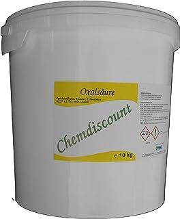 10kg 2x5kg Oxalsäure Pulver Kleesalz, Ethandisäure, min 99,6% z.B. als Rostlöser