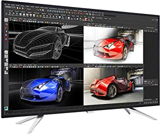 Professional LCD Monitor 43 inch Brilliance 4K Ultra HD by Philips, with 4 MultiView displays, BDM4350UC