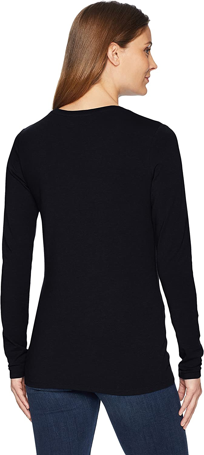 Amazon Essentials Women's Classic-Fit Long-Sleeve Crewneck T-Shirt (Available in Plus Size)