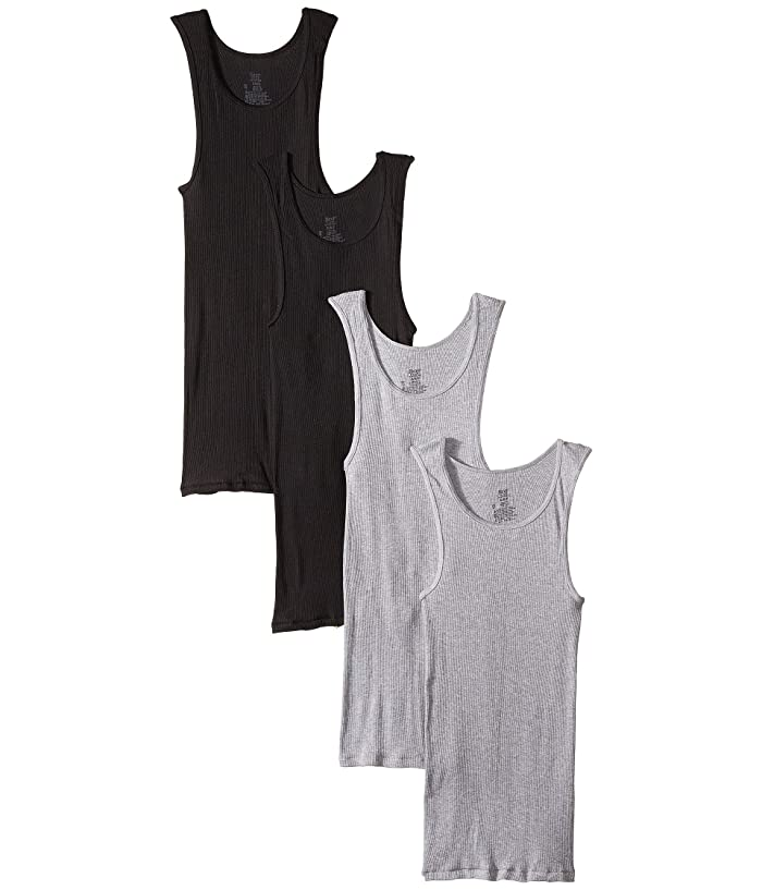 Pack Core Cotton Platinum Tank Black/Grey