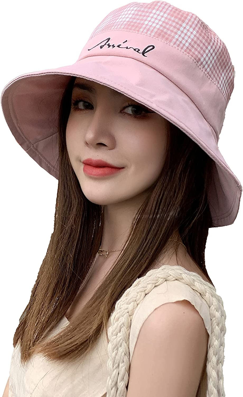 25% OFF Cherish Women Fisherman Hat Tulsa Mall Bucket Protection UV Packable Be