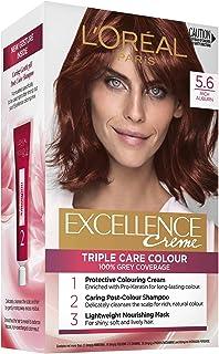 L'Oréal Paris Excellence Creme, 5.6 Rich Auburn (100 Percent Grey Coverage)