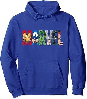 Logo Avengers Super Heroes Hooded Sweatshirt