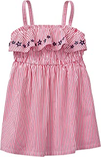 Gymboree Girls' Toddler Strap Printed Ruffle Dress