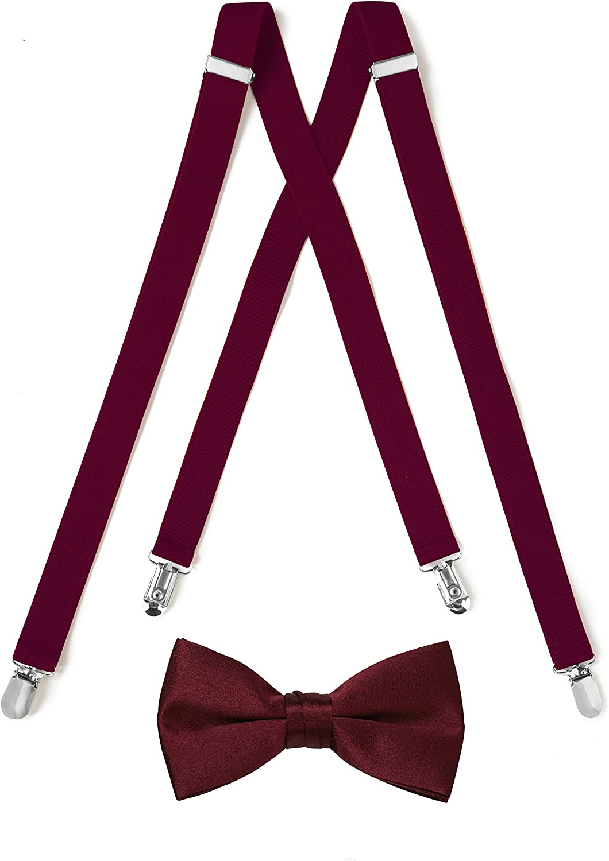 Suspender & Bow Tie Set