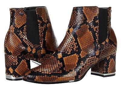 Calvin Klein Fioranna (Cuoio/Dark Walnut Snake) Women