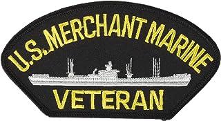 EagleEmblems PM1382 Patch-Uss,Merchant Marine (3x5.25'')