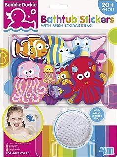 4M Foam Bathtub Stickers with Mesh Bag, Assorted (3841)