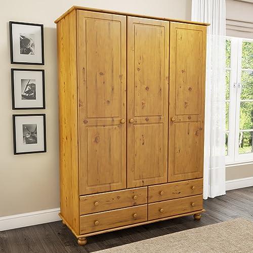 promo code 3d8b9 b91cb Solid Wood Wardrobes: Amazon.co.uk