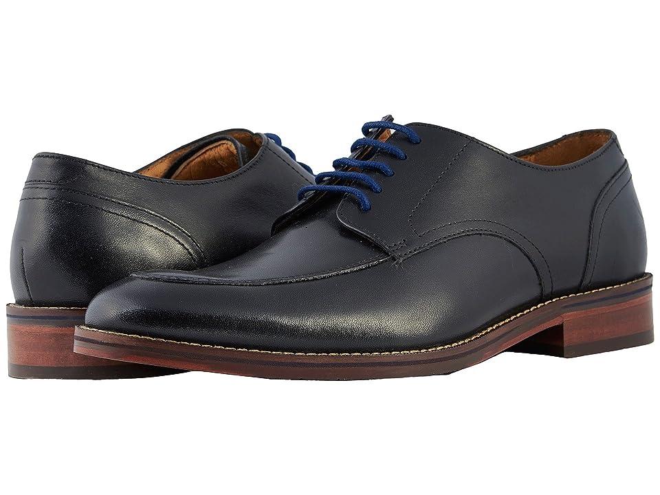 Florsheim Salerno Moc Toe Oxford (Black Smooth) Men
