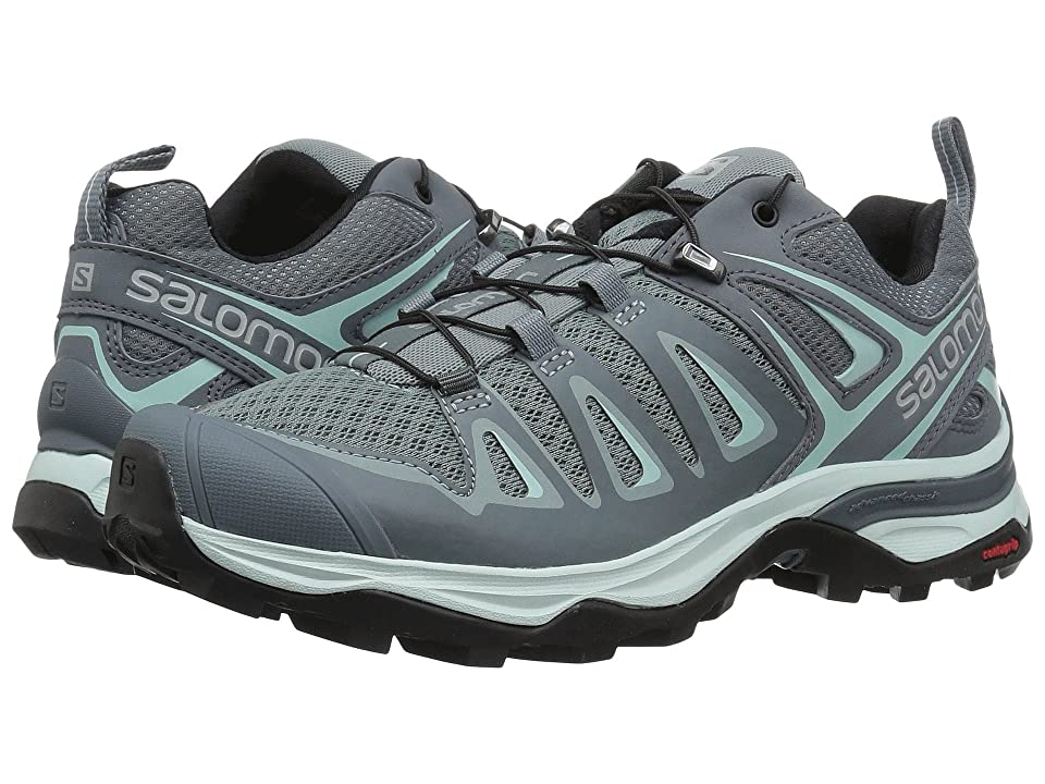 Salomon X Ultra 3 (Lead/Stormy Weather/Canal Blue) Women