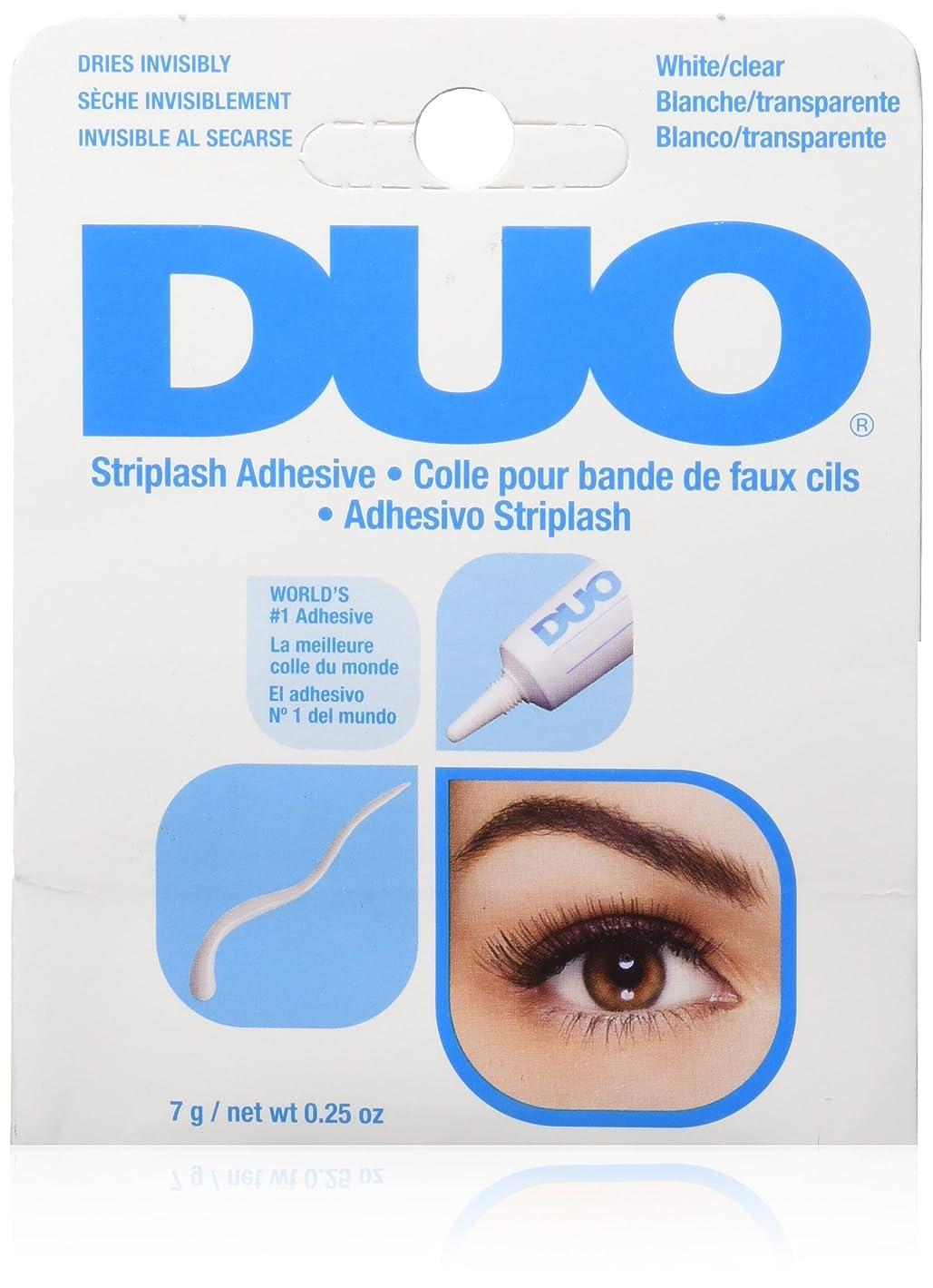 火山フラスコ細心のDUO Eyelash Adhesive - White/Clear (並行輸入品)