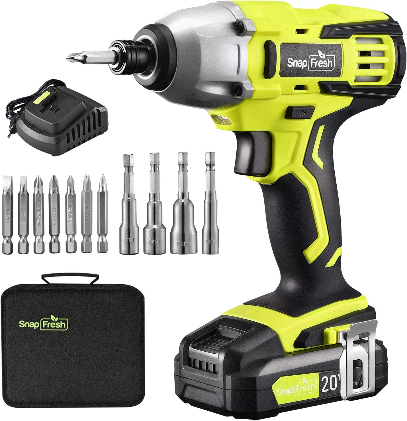 """Limited time It is very popular trial price Cordless Impact Driver Kit -20V MAX 4""""Impact In 1350 1 w"""