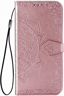 FTRONGRT Case for Samsung Galaxy A55 5G,Mobile Wallet Flip Cover with Mobile Phone Holder and Card Slot,Magnetic PU leathe...