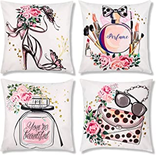 Fashionista Diva Pillow Diva Den Designer Pillow Designer Fashion Throw Pillow Lips Lipstick FASHION Decor DIVA Den Decor Accent Pillow