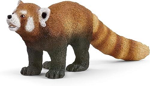Schleich- Figurine Panda Roux Wild Life, 14833, Multicolore