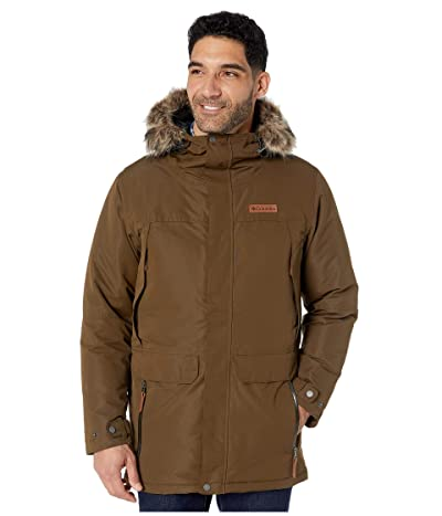Columbia South Canyontm Long Down Parka (Olive Green) Men