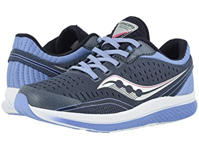 Saucony Kids S-Kinvara 11 (Little Kid/Big Kid) (Folkstone Gray Textile) Girls Shoes