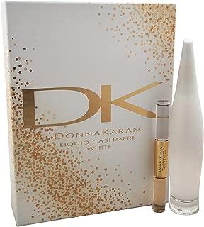Donna Karan Liquid Cashmere for Women Eau De Perfume Spray, White, 2 Count