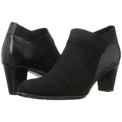 ara Torrance (Black Suede/Leather) Women