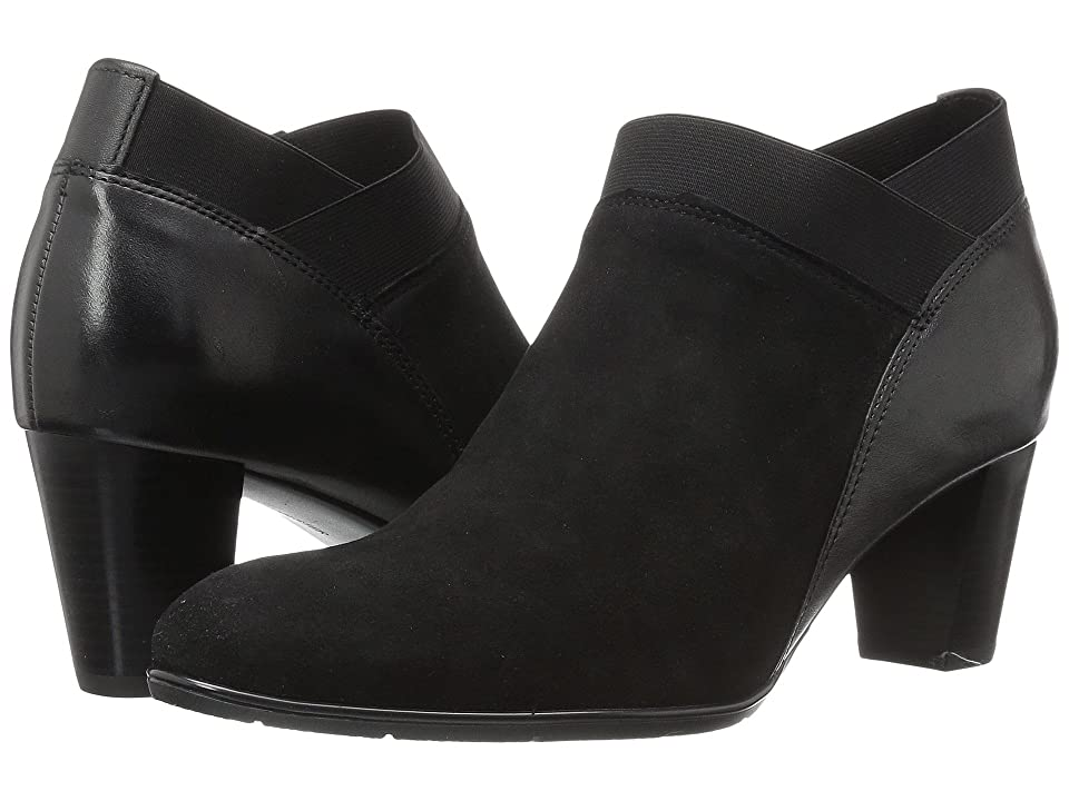 ara Torrance (Black Suede/Leather) Women