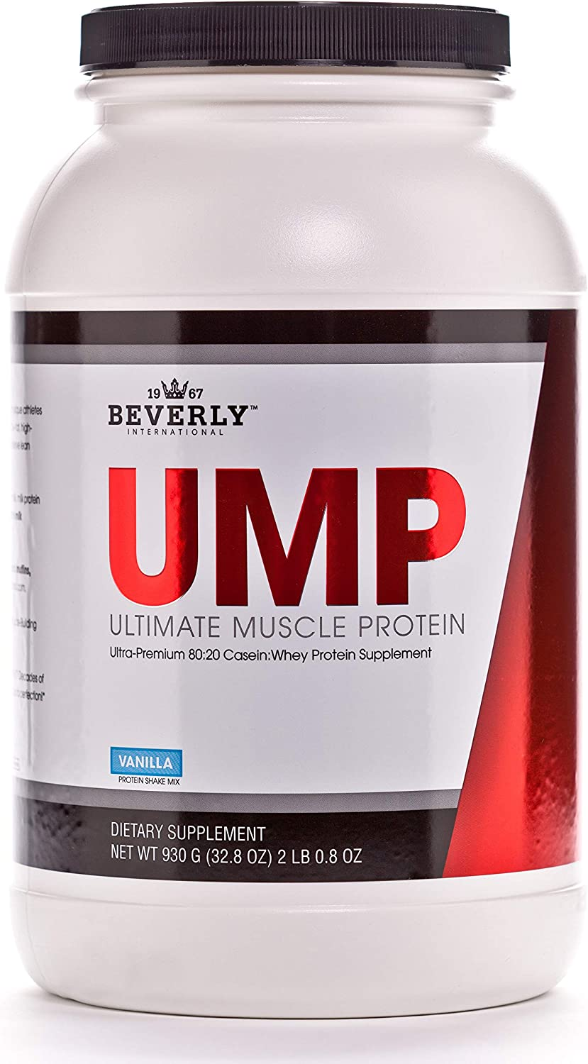 Beverly International UMP Protein Powder U 30 In a New Free Shipping popularity Vanilla. Servings