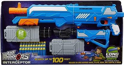 Air Warriors Buzz Bee Interceptor Sniper Foam Dart Blaster