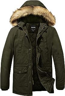 Wantdo Men's Winter Thicken Cotton Jacket Warm Outwear Coat