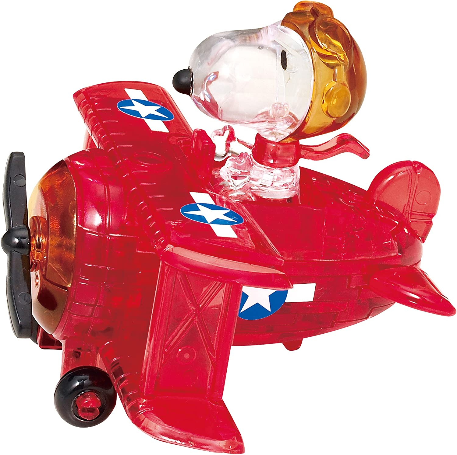 Beverly Crystal Puzzle Snoopy Flying Ace 50 182 by Beverly