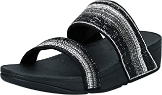 FitFlop Rosa Crystal Mosaic Slides womens Women Fashion Sandals