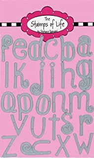 Quirky Lowercase Alphabet Die Cuts for Card-Making and Scrapbooking Supplies by The Stamps of Life - ABC Die Cuts