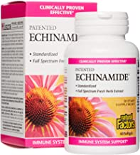 Natural Factors, Echinamide, Echinacea Supplement for Immune and Wellness Support, 60 Softgels
