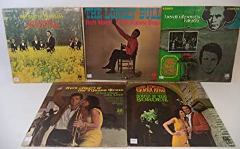 Herb Alpert & the Tijuana Brass Lot of 5 Vinyl Record Albums The Beat of the Brass and more